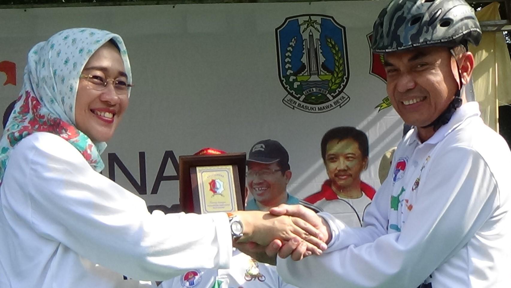 Gowes Pesona Nusantara Tour de Bojonegoro<BR>etape Kayangan Api