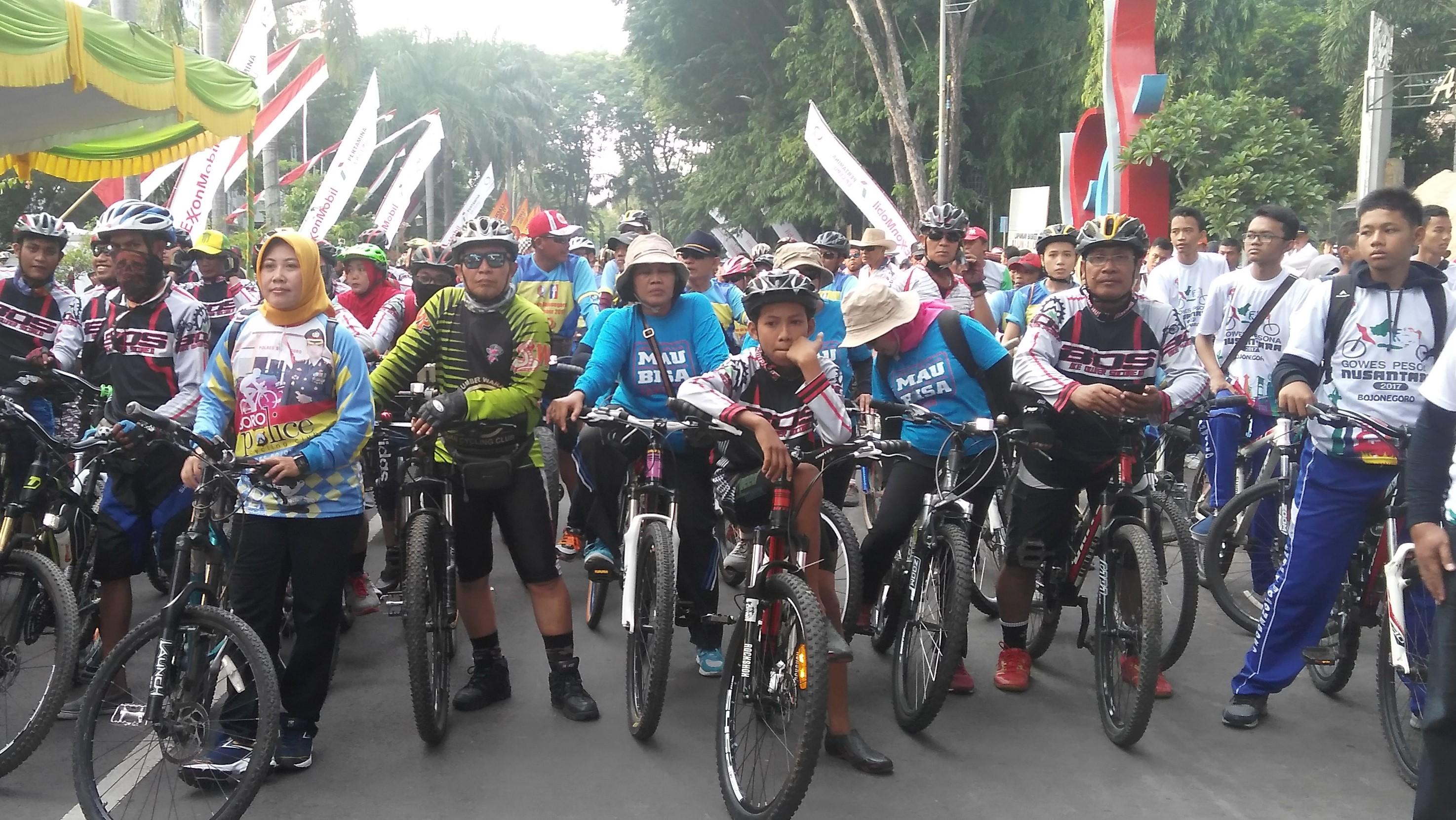 GPN tour de Bojonegoro<BR>etape Kayangan Api